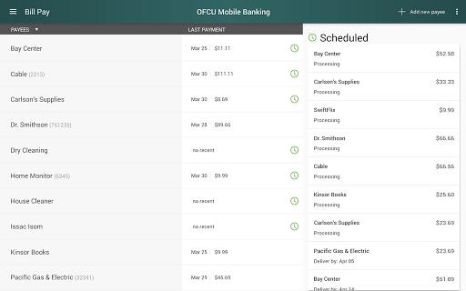 OFCU Mobile Banking screenshot 9