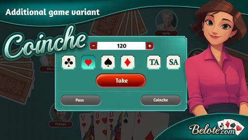 Belote.com - Free Belote Game 2.1.2 screenshots 2