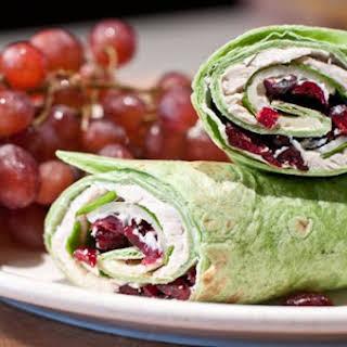 Turkey Wrap Sandwich.