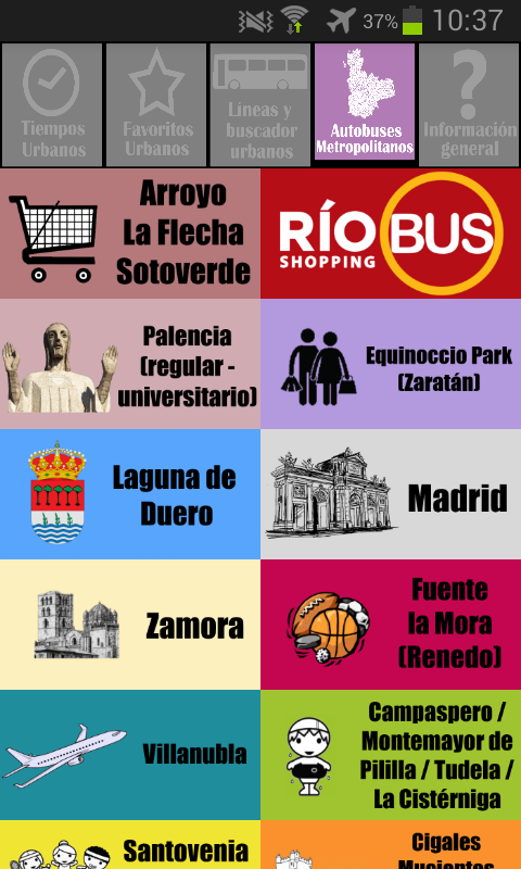 Bus Pucela 🚍 Valladolid Bus: captura de pantalla