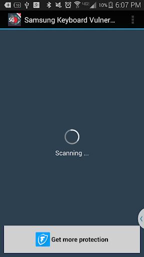 Keyboard Vulnerability Scanner