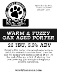 Uncle Bear's Warm & Fuzzy Oak Aged Porter
