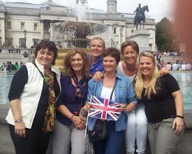 Photo: ACI Board and VP LCI Chantess Wigill on Trafalgar square