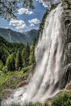 Photo: Vertorama of Stuibenfall in Tyrol