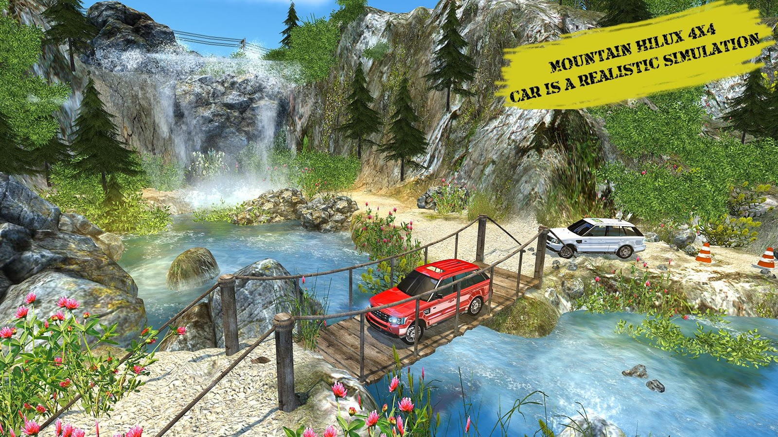 Offroad Hilux Jeep Hill Climb Truck:Mountain Drive- screenshot