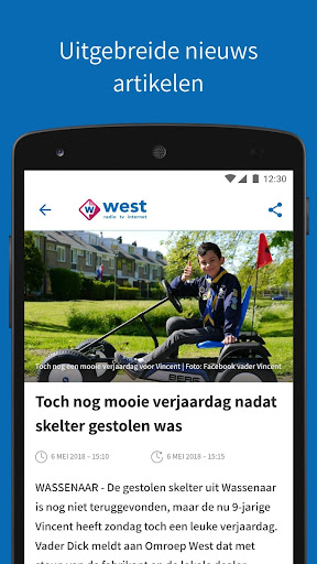 Omroep West 8.9.0 screenshots 2