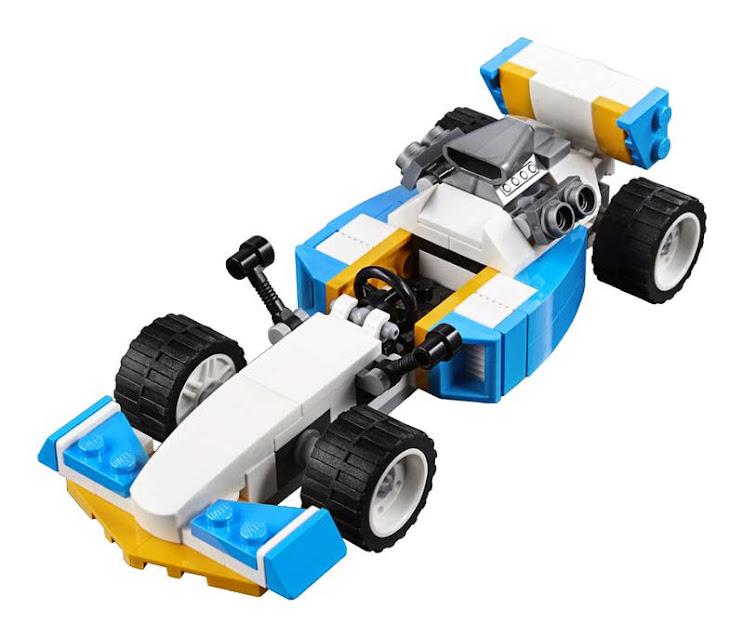 Contenido de Lego® 31072 Motores Extremos