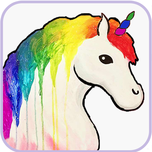App Insights Unicorn Pixel Art Princess Barbie Color By