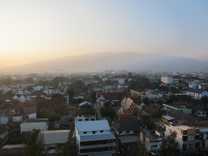 Photo: View to the west of hotel in Chiang Mai