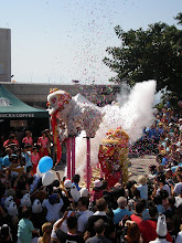 Photo: Dragon dance at the Matilda Hospital Sedan Chair Race fete