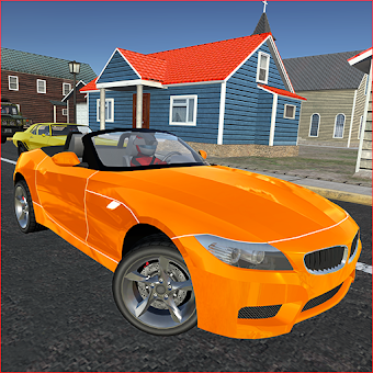 Sports Car Simulator - Addictive Police Chase game