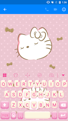 玩免費遊戲APP|下載Shy Kitty Keyboard -Emoji &Gif app不用錢|硬是要APP