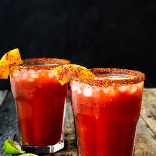 Pineapple Michelada.