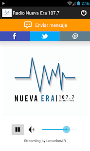 Radio Nueva Era 107.7- screenshot thumbnail
