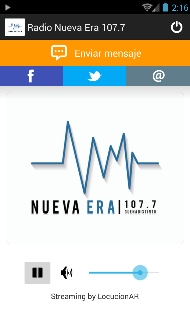 Radio Nueva Era 107.7- screenshot
