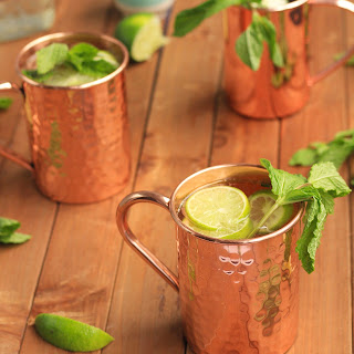 Lime & Gin Moscow Mules.