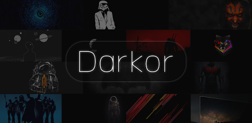 Darkor - Super Amoled, Dark, HD/4K Wallpapers Apps til Android screenshot