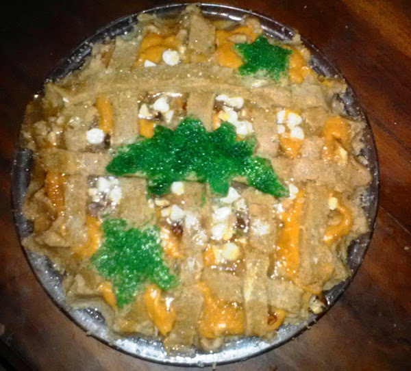 Whipped Sweet Potato Pie With White Chocolate Nuts Recipe