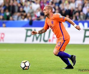 Wesley Sneijder gaat nadenken over een comeback bij Utrecht, maar zal daarvoor eerst wat kilootjes moeten wegwerken