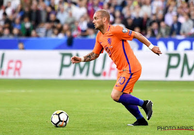 Wesley Sneijder pense à faire un comeback mais à une condition