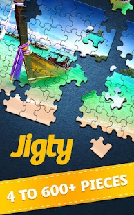 Jigty Jigsaw Puzzles- screenshot thumbnail