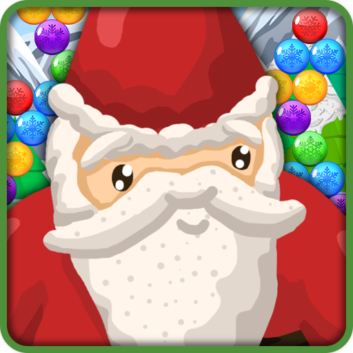 Bubble shooter - Christmas Puzzle with Santa Claus