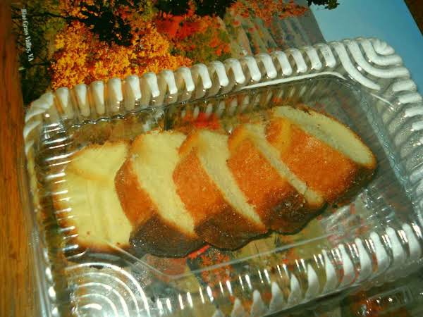 Photo Is Lemon Pound Cake, Made From Miniature Loaf Pan For Bake Sale.