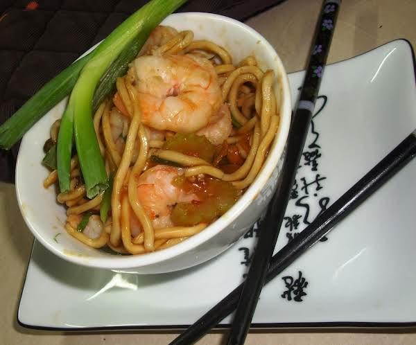 Chinese - Shrimp Lo Mein Recipe