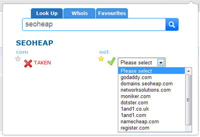 Domain Availability Checker and Whois Lookup
