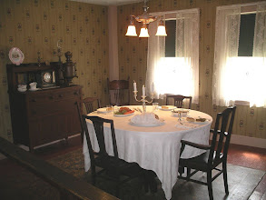 Photo: the dining room