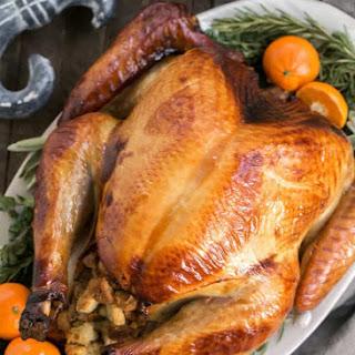 Honey Brined Turkey.