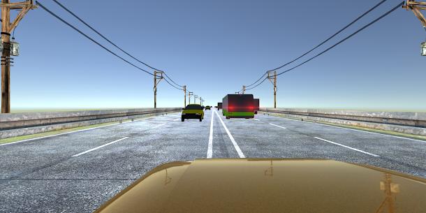VR Racer: Highway Traffic 360 for Cardboard VR 8