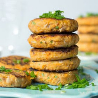 Sweet Potato Tuna Patties.