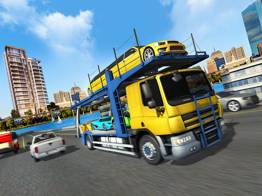 Car Transporter Cargo Truck Driving Game 2018 1.0 screenshots 15