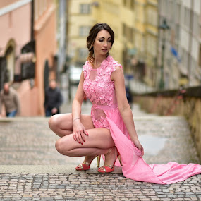 Dresses  by Michal Kostka - People Fashion ( look, glamour, fashion, sexy, model, elite, prague )