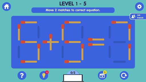 Matchstick Puzzle apkmind screenshots 4