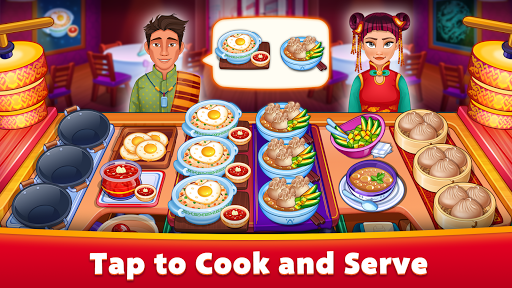 Asian Cooking Star: Crazy Restaurant Cooking Games apkpoly screenshots 2
