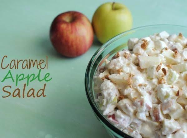 Caramel Apple Salad