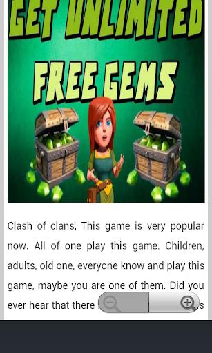 Free Gems Updated 2016