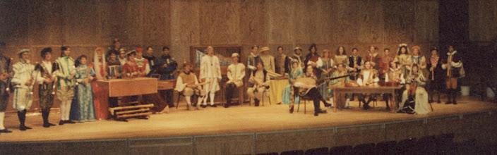 Photo: April 1991: Colossal Baroque concert with the combined CMA and EME ensembles