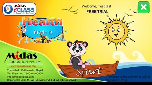 MiDas eCLASS Health 3 Demo