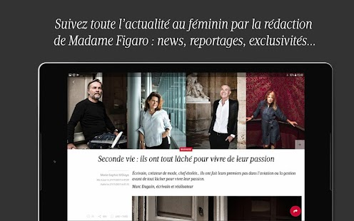 Madame Figaro : magazine et news au féminin- screenshot thumbnail