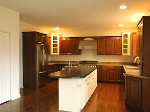 Photo: The upgraded kitchen in one of our recent BELLEGROVE II homes