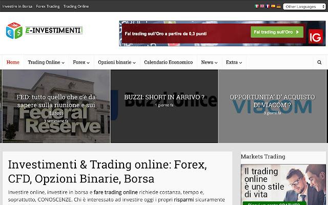 e-investimenti.com - Investimenti & Trading