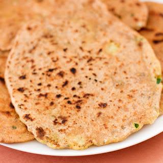 Aloo Paratha, Potato-Filled Flatbread.