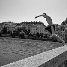 Photo: jump...  #StreetPics  #street #streettogs #streetphotography #shootthestreet #blackandwhite #blackandwhitephotography #bw #monochrome  #monochromeartyclub #monochromephotography