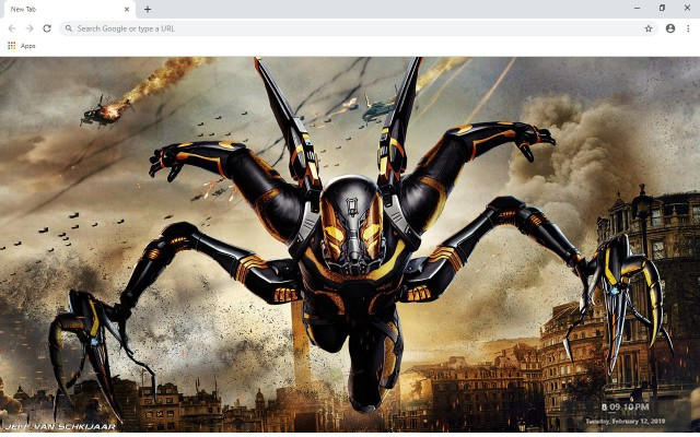 Yellowjacket New Tab & Wallpapers Collection