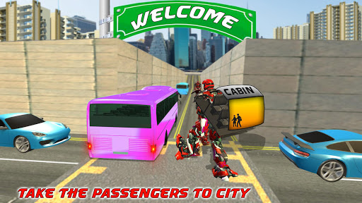 Bus Robot Transforming Game - Passenger Transport 1.1 screenshots 10