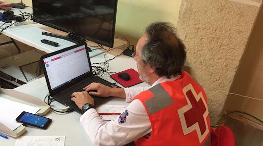 Cruz Roja pone a disposición la intervención del voluntariado y personal técnico