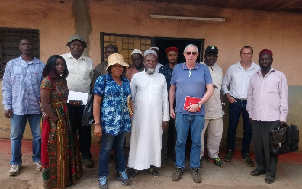 produtores de Camarões